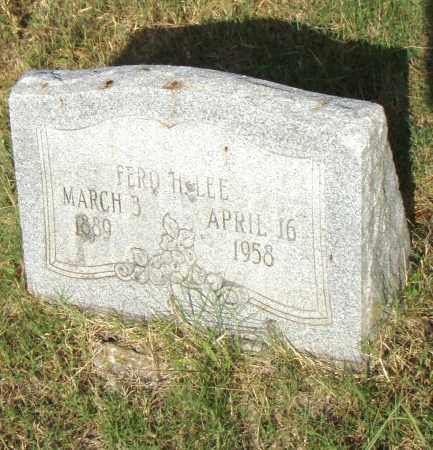 LEE, FRED H - Pulaski County, Arkansas   FRED H LEE - Arkansas Gravestone Photos