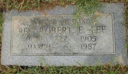LEE, ROBERT E. - Pulaski County, Arkansas | ROBERT E. LEE - Arkansas Gravestone Photos