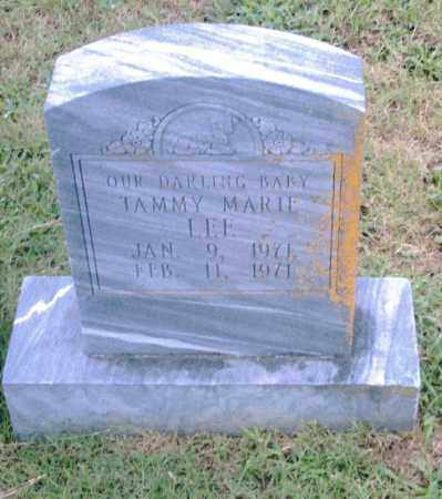 LEE, TAMMY MARIE - Pulaski County, Arkansas | TAMMY MARIE LEE - Arkansas Gravestone Photos