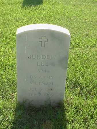 LEE (VETERAN VIET), BURDELL - Pulaski County, Arkansas   BURDELL LEE (VETERAN VIET) - Arkansas Gravestone Photos