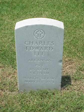 LEE (VETERAN VIET), CHARLES EDWARD - Pulaski County, Arkansas | CHARLES EDWARD LEE (VETERAN VIET) - Arkansas Gravestone Photos