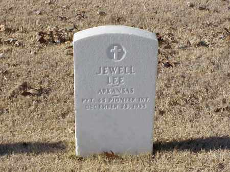 LEE (VETERAN WWI), JEWELL - Pulaski County, Arkansas | JEWELL LEE (VETERAN WWI) - Arkansas Gravestone Photos