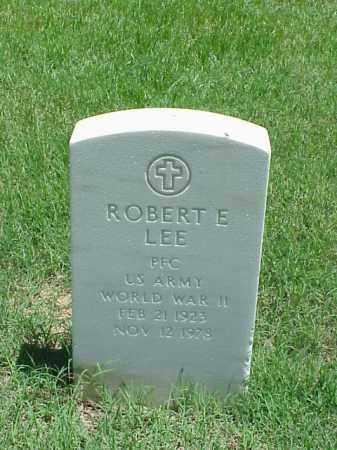 LEE (VETERAN WWII), ROBERT E - Pulaski County, Arkansas | ROBERT E LEE (VETERAN WWII) - Arkansas Gravestone Photos