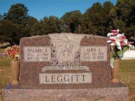 LEGGITT, DILLARD A - Pulaski County, Arkansas | DILLARD A LEGGITT - Arkansas Gravestone Photos