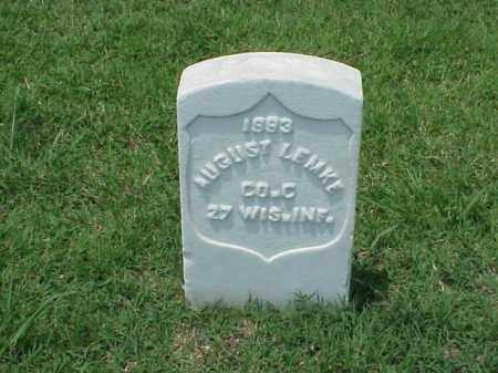 LEMKE (VETERAN UNION), AUGUST - Pulaski County, Arkansas | AUGUST LEMKE (VETERAN UNION) - Arkansas Gravestone Photos