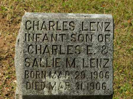LENZ, CHARLES - Pulaski County, Arkansas | CHARLES LENZ - Arkansas Gravestone Photos