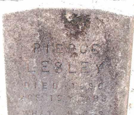 LESLEY, PIERCE - Pulaski County, Arkansas | PIERCE LESLEY - Arkansas Gravestone Photos