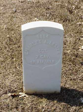 LESTER (VETERAN SAW), CHARLES A - Pulaski County, Arkansas | CHARLES A LESTER (VETERAN SAW) - Arkansas Gravestone Photos