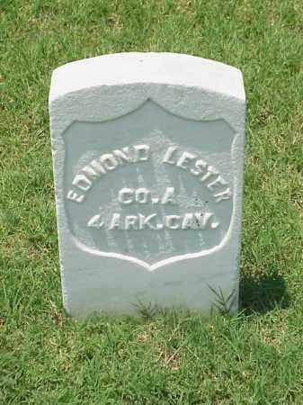 LESTER (VETERAN UNION), EDMOND - Pulaski County, Arkansas | EDMOND LESTER (VETERAN UNION) - Arkansas Gravestone Photos