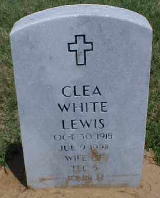 LEWIS, CLEA - Pulaski County, Arkansas | CLEA LEWIS - Arkansas Gravestone Photos