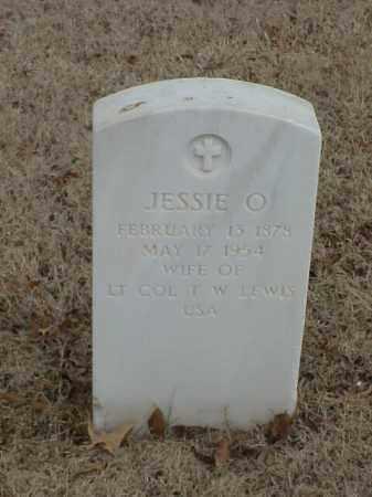 LEWIS, JESSIE O - Pulaski County, Arkansas | JESSIE O LEWIS - Arkansas Gravestone Photos
