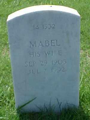 LEWIS, MABEL - Pulaski County, Arkansas | MABEL LEWIS - Arkansas Gravestone Photos
