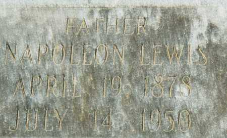LEWIS, NAPOLEON - Pulaski County, Arkansas   NAPOLEON LEWIS - Arkansas Gravestone Photos