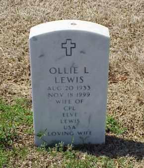 LEWIS, OLLIE L - Pulaski County, Arkansas | OLLIE L LEWIS - Arkansas Gravestone Photos