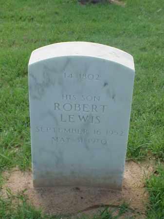 LEWIS, ROBERT - Pulaski County, Arkansas   ROBERT LEWIS - Arkansas Gravestone Photos