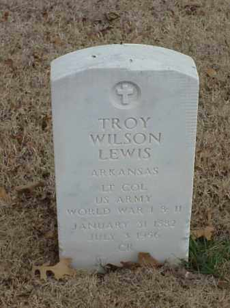 LEWIS (VETERAN 2 WARS), TROY WILSON - Pulaski County, Arkansas | TROY WILSON LEWIS (VETERAN 2 WARS) - Arkansas Gravestone Photos