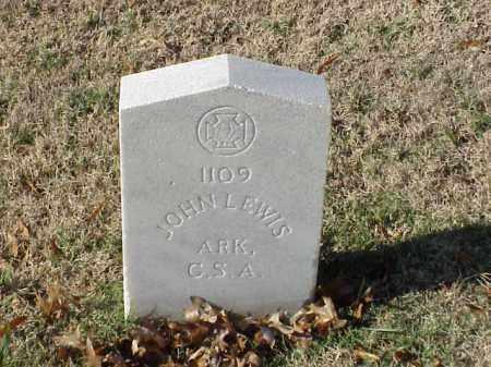 LEWIS (VETERAN CSA), JOHN - Pulaski County, Arkansas | JOHN LEWIS (VETERAN CSA) - Arkansas Gravestone Photos