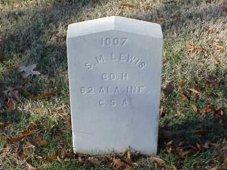 LEWIS (VETERAN CSA), S M - Pulaski County, Arkansas | S M LEWIS (VETERAN CSA) - Arkansas Gravestone Photos