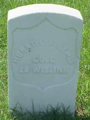 LEWIS (VETERAN UNION), HORATIO S - Pulaski County, Arkansas | HORATIO S LEWIS (VETERAN UNION) - Arkansas Gravestone Photos