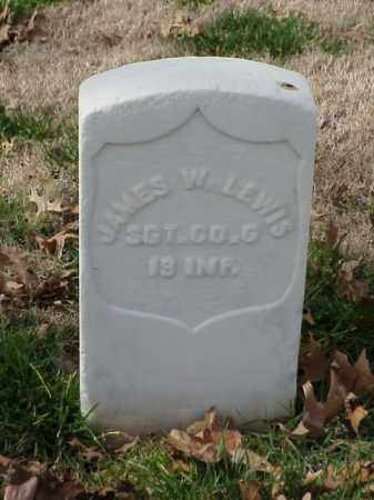 LEWIS (VETERAN UNION), JAMES W - Pulaski County, Arkansas | JAMES W LEWIS (VETERAN UNION) - Arkansas Gravestone Photos