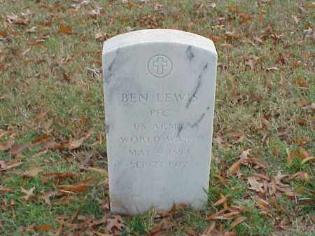 LEWIS (VETERAN WWI), BEN - Pulaski County, Arkansas | BEN LEWIS (VETERAN WWI) - Arkansas Gravestone Photos
