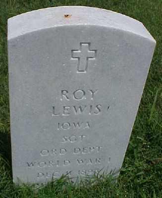 LEWIS (VETERAN WWI), ROY - Pulaski County, Arkansas | ROY LEWIS (VETERAN WWI) - Arkansas Gravestone Photos