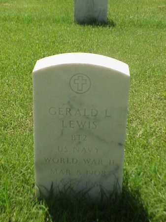 LEWIS (VETERAN WWII), GERALD L - Pulaski County, Arkansas | GERALD L LEWIS (VETERAN WWII) - Arkansas Gravestone Photos