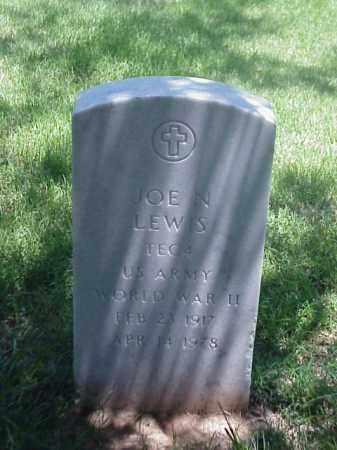 LEWIS (VETERAN WWII), JOE N - Pulaski County, Arkansas | JOE N LEWIS (VETERAN WWII) - Arkansas Gravestone Photos