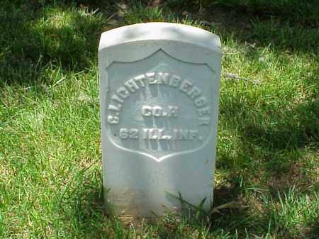 LICHTENBERGER (VETERAN UNION), CHRISTOPHER - Pulaski County, Arkansas | CHRISTOPHER LICHTENBERGER (VETERAN UNION) - Arkansas Gravestone Photos