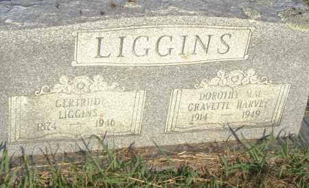 LIGGINS, GERTRUDE - Pulaski County, Arkansas | GERTRUDE LIGGINS - Arkansas Gravestone Photos