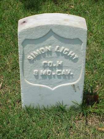 LIGHT (VETERAN UNION), SIMON - Pulaski County, Arkansas | SIMON LIGHT (VETERAN UNION) - Arkansas Gravestone Photos