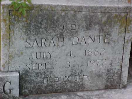 DANTE LINDENBERG (2), SARAH - Pulaski County, Arkansas | SARAH DANTE LINDENBERG (2) - Arkansas Gravestone Photos