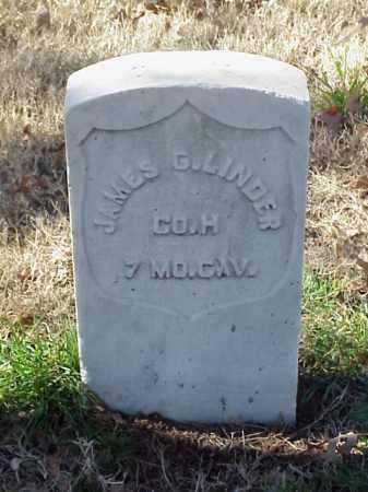 LINDER (VETERAN UNION), JAMES G - Pulaski County, Arkansas | JAMES G LINDER (VETERAN UNION) - Arkansas Gravestone Photos