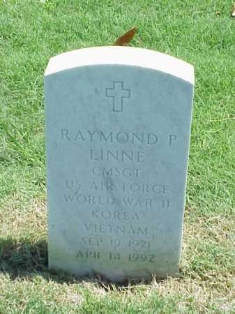 LINNE (VETERAN 3 WARS), RAYMOND P - Pulaski County, Arkansas | RAYMOND P LINNE (VETERAN 3 WARS) - Arkansas Gravestone Photos