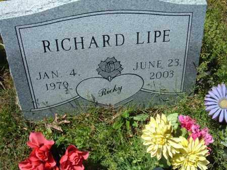 LIPE, RICHARD L. - Pulaski County, Arkansas | RICHARD L. LIPE - Arkansas Gravestone Photos