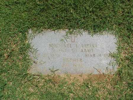LIPSKI (VETERAN 2 WARS), MICHAEL L - Pulaski County, Arkansas | MICHAEL L LIPSKI (VETERAN 2 WARS) - Arkansas Gravestone Photos