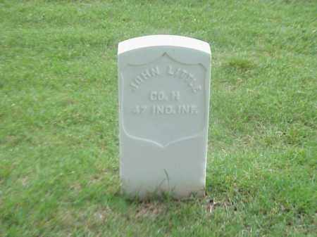 LITTLE (VETERAN UNION), JOHN - Pulaski County, Arkansas | JOHN LITTLE (VETERAN UNION) - Arkansas Gravestone Photos