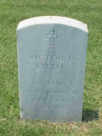 LITTLE (VETERAN WWII), VICTOR H - Pulaski County, Arkansas | VICTOR H LITTLE (VETERAN WWII) - Arkansas Gravestone Photos