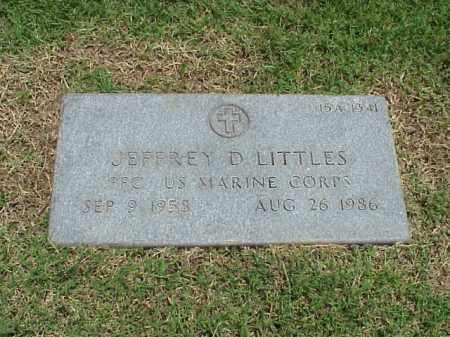 LITTLES (VETERAN), JEFFREY D - Pulaski County, Arkansas | JEFFREY D LITTLES (VETERAN) - Arkansas Gravestone Photos