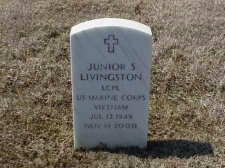 LIVINGSTON (VETERAN VIET), JUNIOR S - Pulaski County, Arkansas   JUNIOR S LIVINGSTON (VETERAN VIET) - Arkansas Gravestone Photos