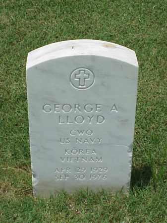 LLOYD (VETERAN 2 WARS), GEORGE A - Pulaski County, Arkansas | GEORGE A LLOYD (VETERAN 2 WARS) - Arkansas Gravestone Photos