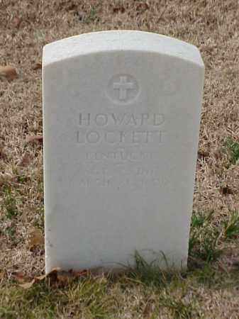 LOCKETT (VETERAN), HOWARD - Pulaski County, Arkansas   HOWARD LOCKETT (VETERAN) - Arkansas Gravestone Photos