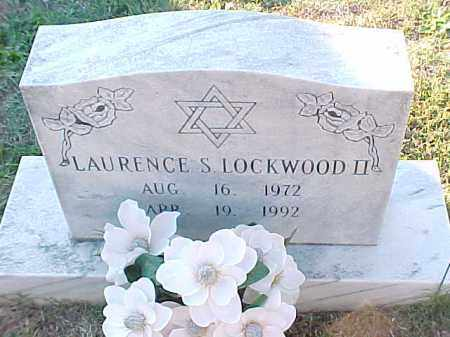 LOCKWOOD, II, LAURENCE S - Pulaski County, Arkansas | LAURENCE S LOCKWOOD, II - Arkansas Gravestone Photos