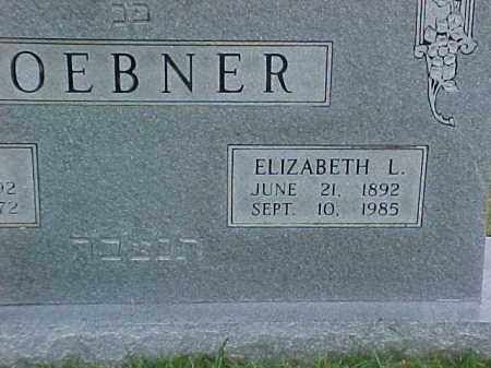 LOEBNER, ELIZABETH L (2) - Pulaski County, Arkansas   ELIZABETH L (2) LOEBNER - Arkansas Gravestone Photos