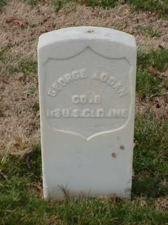LOGAN (VETERAN UNION), GEORGE - Pulaski County, Arkansas   GEORGE LOGAN (VETERAN UNION) - Arkansas Gravestone Photos