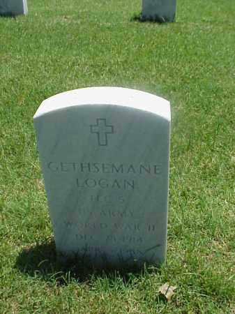 LOGAN (VETERAN WWII), GESTHSEMANE - Pulaski County, Arkansas   GESTHSEMANE LOGAN (VETERAN WWII) - Arkansas Gravestone Photos