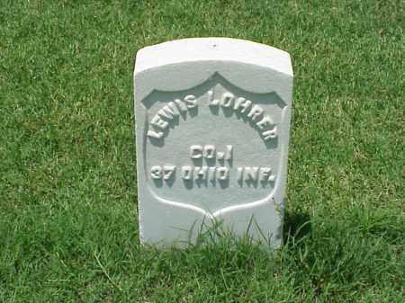LOHRER (VETERAN UNION), LEWIS - Pulaski County, Arkansas | LEWIS LOHRER (VETERAN UNION) - Arkansas Gravestone Photos