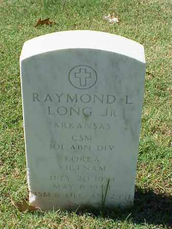 LONG, JR (VETERAN 2 WARS), RAYMOND L - Pulaski County, Arkansas | RAYMOND L LONG, JR (VETERAN 2 WARS) - Arkansas Gravestone Photos