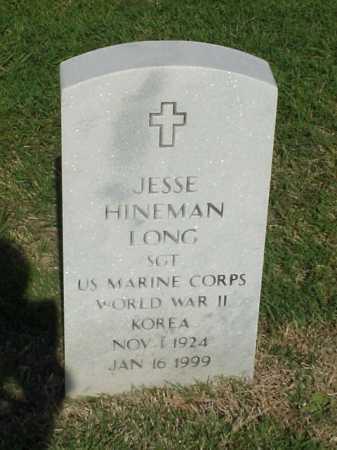 LONG (VETERAN 2 WARS), JESSE HINEMAN - Pulaski County, Arkansas | JESSE HINEMAN LONG (VETERAN 2 WARS) - Arkansas Gravestone Photos