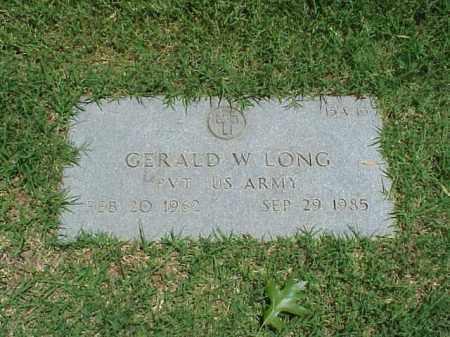 LONG (VETERAN), GERALD W - Pulaski County, Arkansas | GERALD W LONG (VETERAN) - Arkansas Gravestone Photos